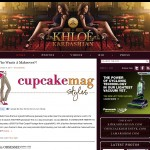 Khloe Kardashian blogs about cupcakeMAG {and lots of giveaways!}