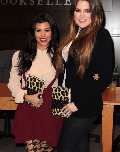 Quick Chat with Kourtney &  Khloe Kardashian! {plus we're giving away a signed copy of Dollhouse!}