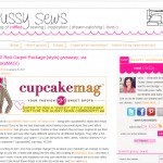 cupcakeMAG styles giveaway from us over on Gussy Sews!