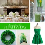 Decorating for St.Patty's Day on The Party Dress Blog