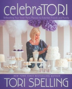 Interivew With The Party Planning Goddess Herself, Tori Spelling {Win A Signed Copy of celebraTORI!}