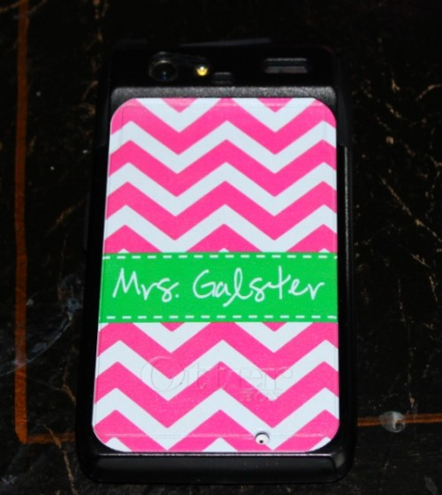 monogrammed otterbox case, monogrammed phone case