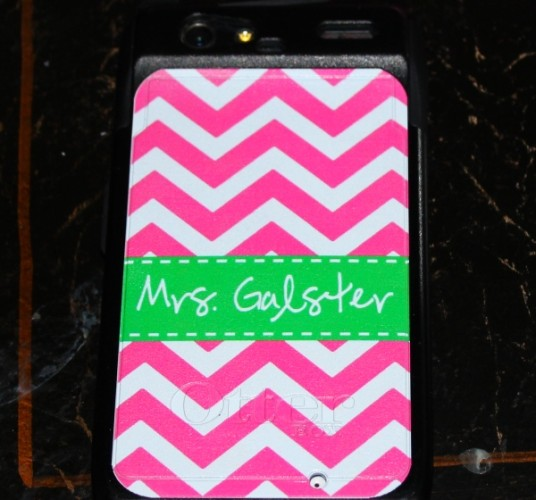 Current Obsession: Monogrammed Otterbox Phone Case