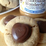 White Chocolate Wonderful  Peanut Butter Blossoms