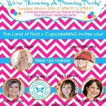 You're Invited: The Land of Nod + cupcakeMAG Pinterest Party!