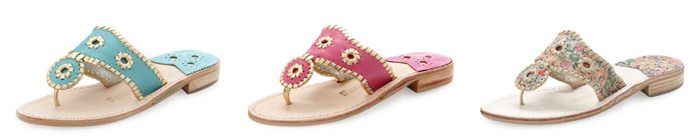 Jack Rogers (on sale!) at Neiman Marcus