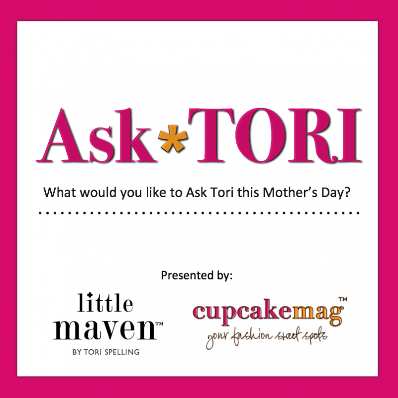 Ask Tori Spelling: Mother's Day Edition!