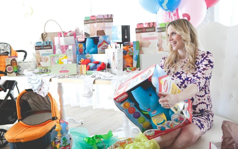 Inside Rosie Pope's Baby Shower