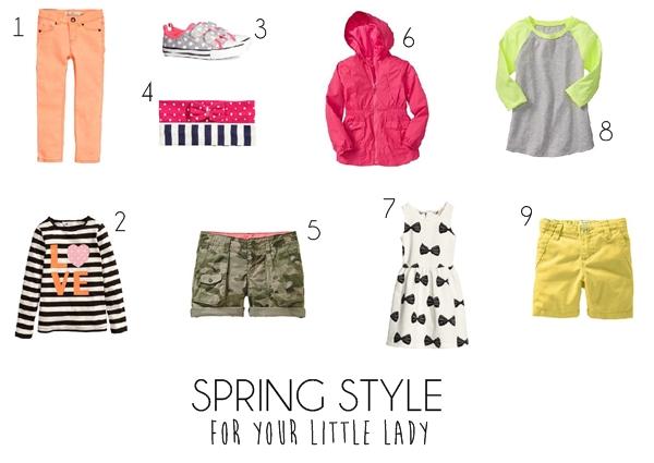 2014 Girls Spring Style