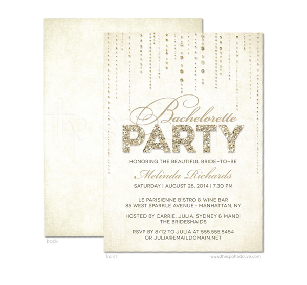 The Spotted Olive // hip + modern invitations