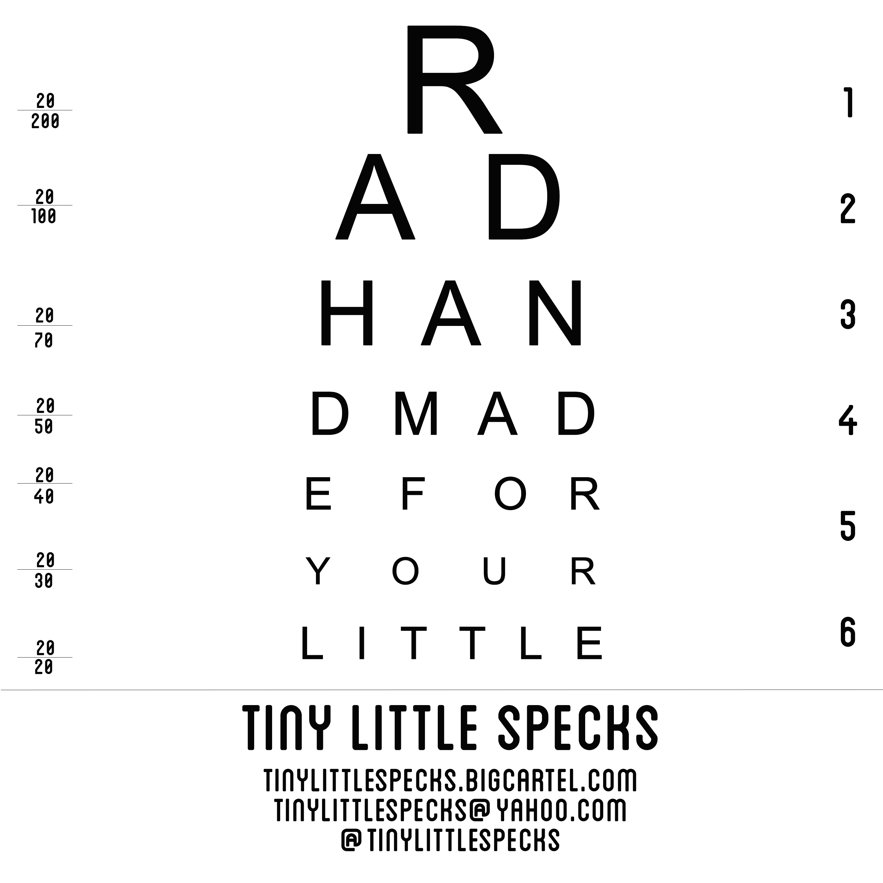 Tiny Little Specks