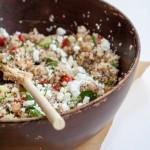Summer Mediterranean Quinoa Salad | CUPCAKEMAG & REVISIONARY LIFE