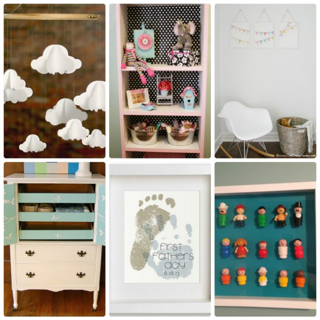 DIY Nursery Kids Room Ideas