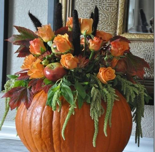 DIY Fall Flowers