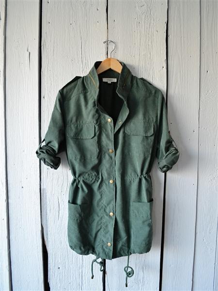 Sage Utility Jacket