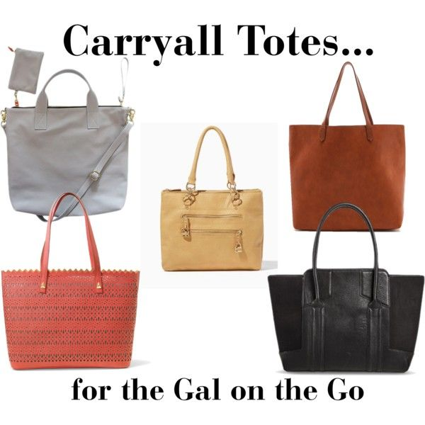 Carryall Totes Collage