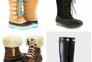 Winter Boot Collage