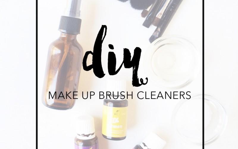 DIY make up brush cleanser