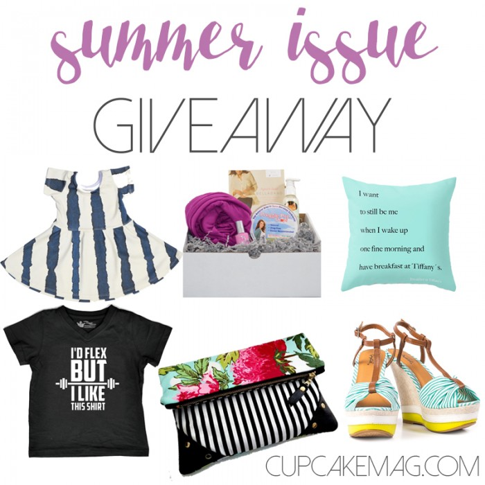 summer issue giveaway