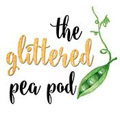The Glittered Pea Pod