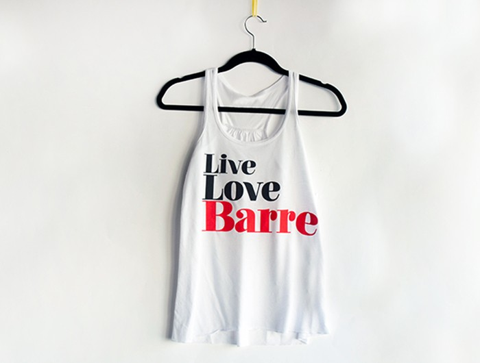 LiveLoveBarre Hanger