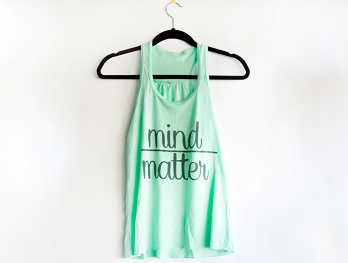 Mind Matter  Mint Hanger
