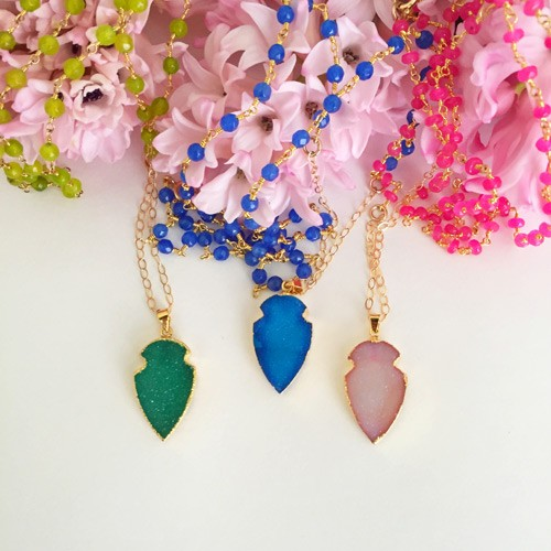 Customized, hand-crafted jewelry from R and E Avenue + a giveaway!