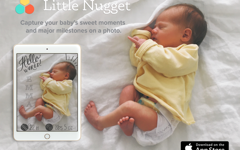 Capture your baby's sweet moments with Little Nugget + a giveaway!