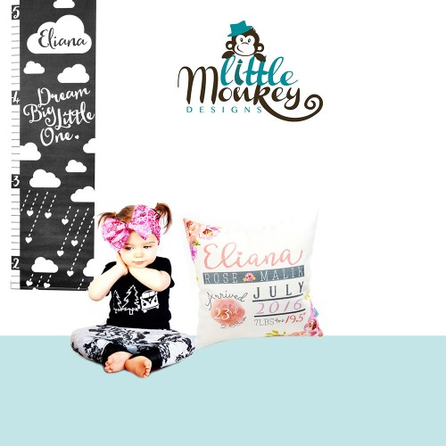 Little_Monkey_Designs_Personalized_Pillows_Height_Charts