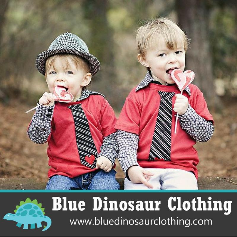 Blue Dinosaur Clothing
