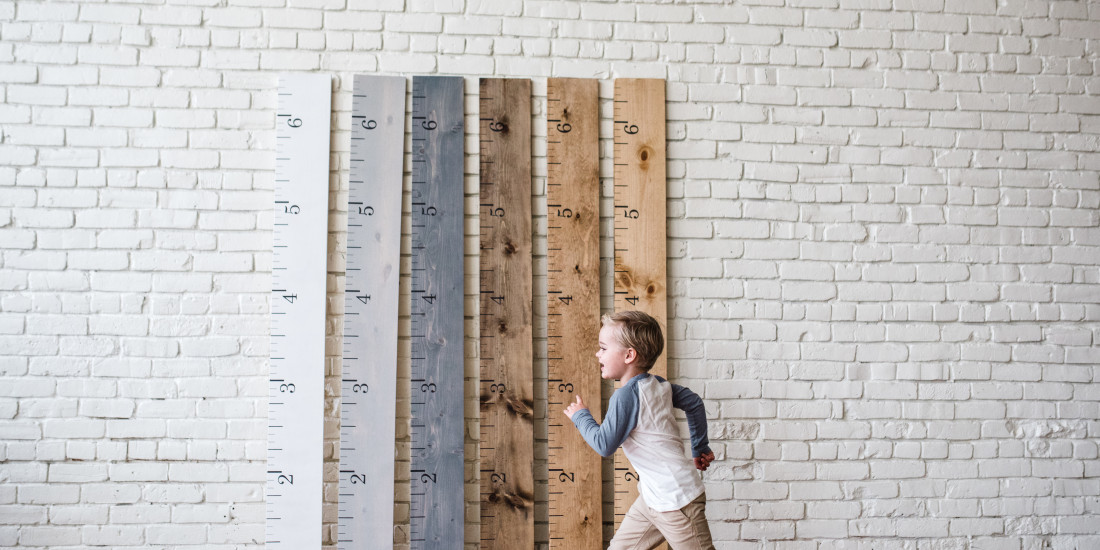 Gorgeous growth chart heirlooms from White Loft + a giveaway!