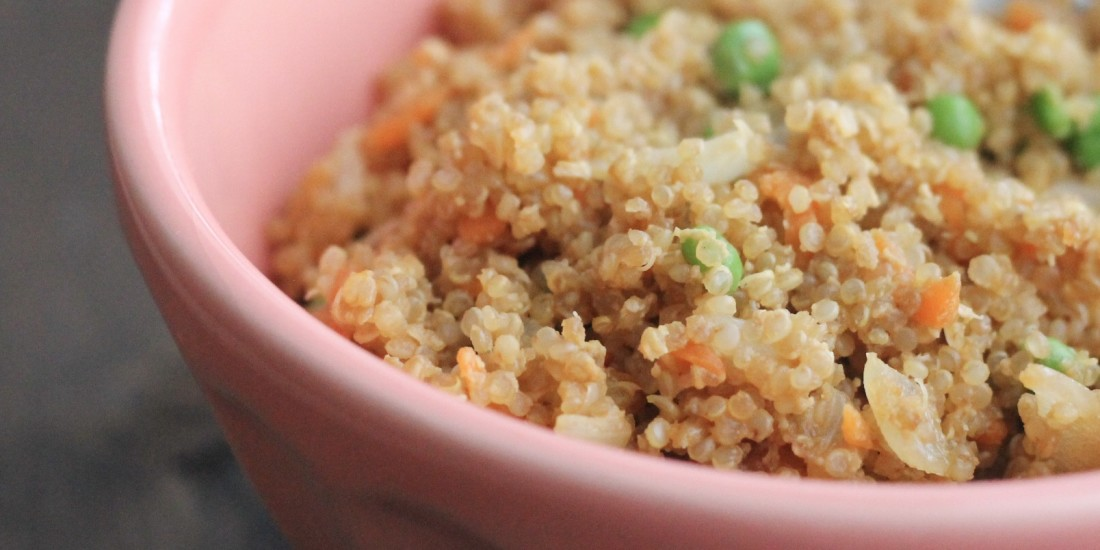 Take-out Makeover   Quinoa Fried Rice