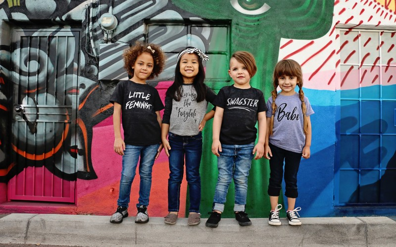 Little tees making a statement from Love Bubby + a giveaway!