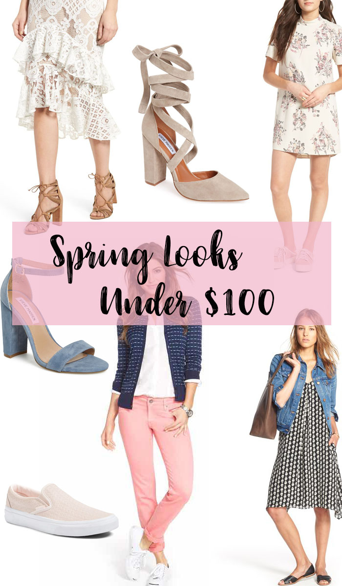 Spring Looks Under $100 | cupcakeMAG