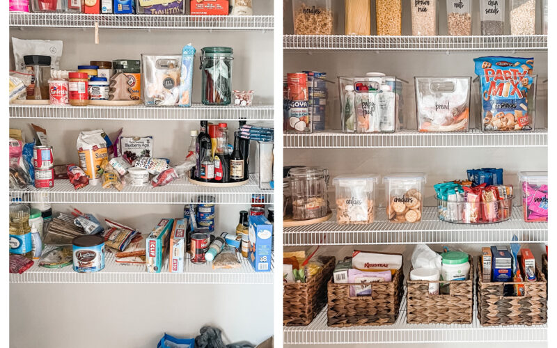 Spring Organization: Pantry Makeover