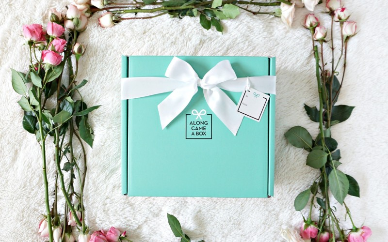 Send a day of presents with Along Came a Box + a giveaway!