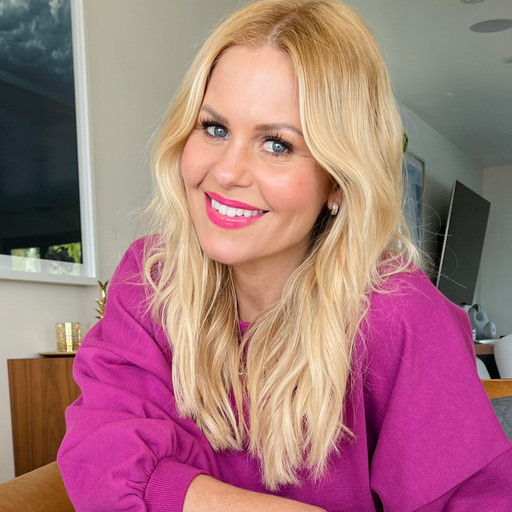 'Full House' Star talks passion, dreams and her new book Candace's Playful Puppy